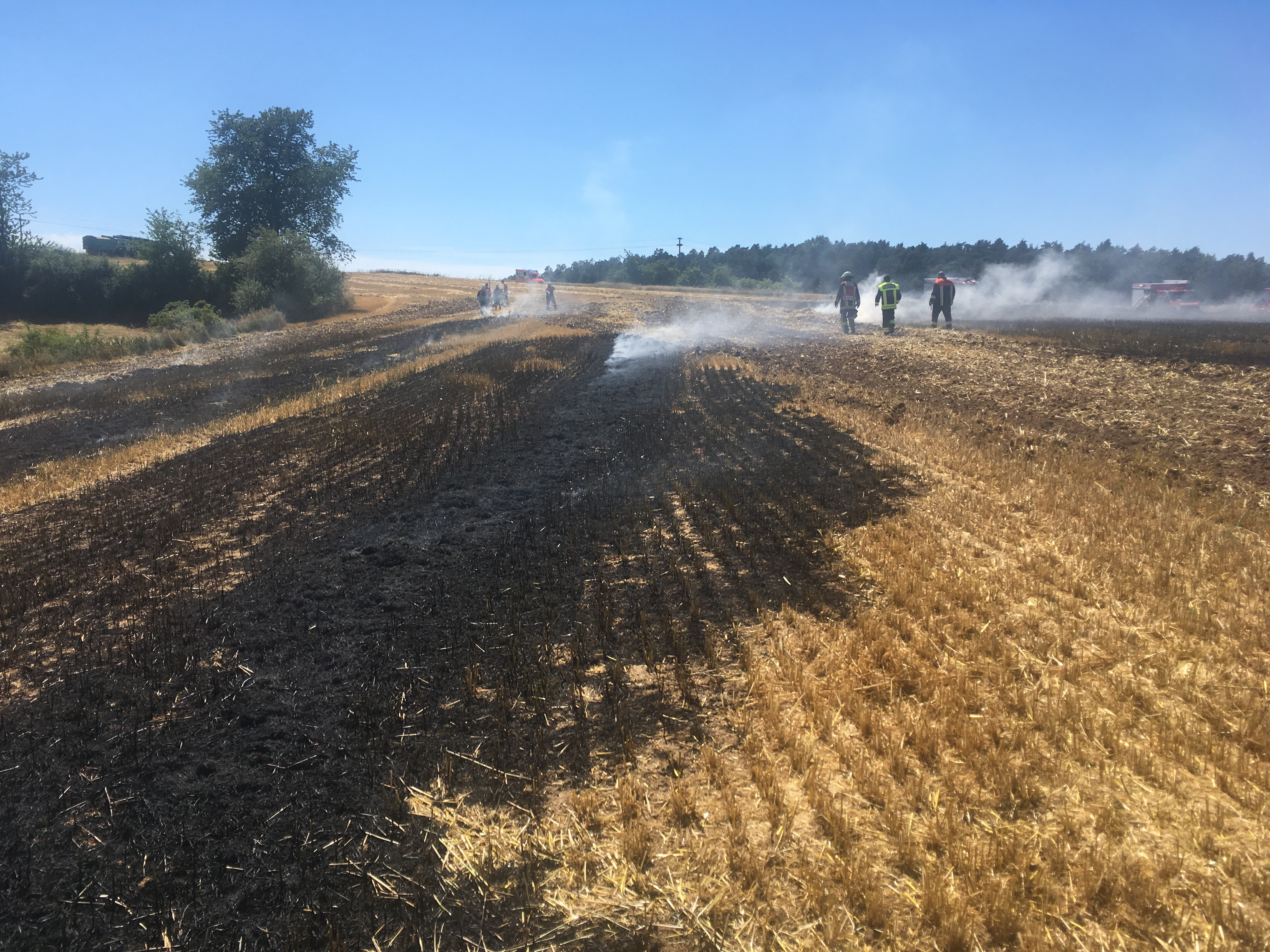 Brand vom 03.07.2018     (C) Feuerwehr Steppach (2018)